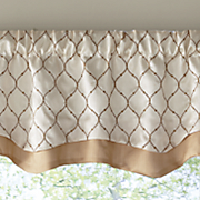 bleecker layered valance