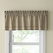 carlyle textured valance