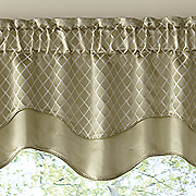 easton jacquard valance