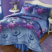 Hummingbird Comforter Set and Window Treatments