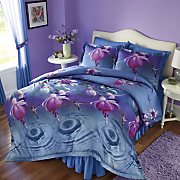 Hummingbird Comforter Set and Window Treatments