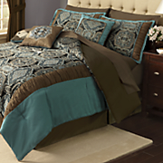 D'Orsay 10-Piece Bed Set and Window Treatments