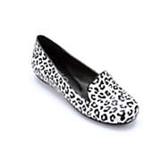 White Leopard Loafer by Midnight Velvet