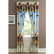 Running Horses Window Treatments