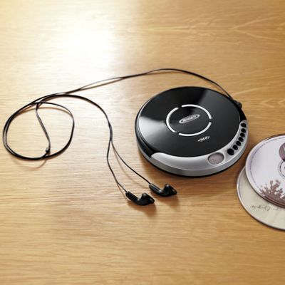 Personal CD Player with Bass Boost by Jensen