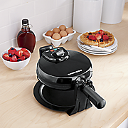 rotating waffle maker by black   decker