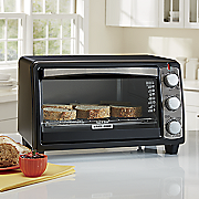 6 slice toaster oven by black   decker