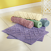 victoria 2 pc  bath mat set
