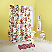 Watercolor Shower Curtain, Towels and Bath Rug
