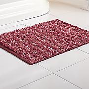 watercolor bath rug