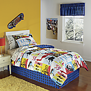 get movin  complete bed set  valance and pillow