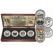 4-pc. Titanic Coin Set