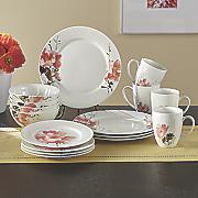 16-Piece Amore Dinnerware Set by Oneida