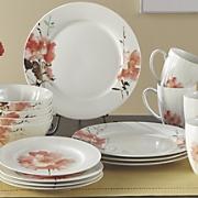 16 pc  amore dinnerware set by oneida