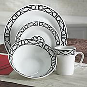 16-Piece Facade Dinnerware Set by Oneida