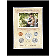 Personalized Day to Remember 5-Coin Photo Frame