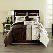 Camellia Faux Silk 8-Piece Bed Set