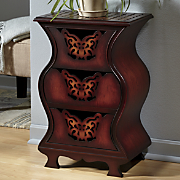 3-Drawer Butterfly Handle Cabinet