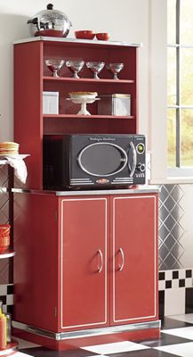 Retro Microwave Cabinet From Seventh Avenue Dw731189