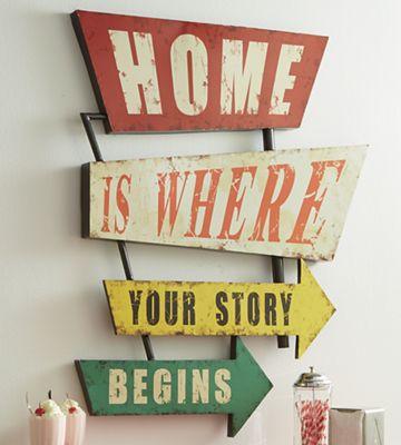 """Home Is Where"" Art"