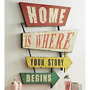 home is where  art