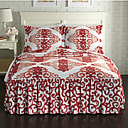 Ombre Damask Bedspread and Sham