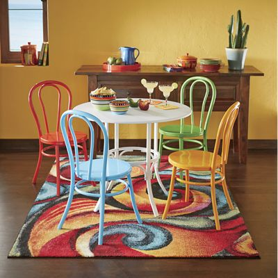 Colorful Metal Dining Chair