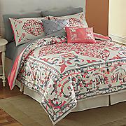 La Scala Bed Set, Panel Pair and Valance