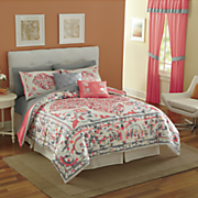 La Scala Bed Set, Panel Pair and Valance