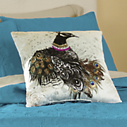 pavone jeweled pillow