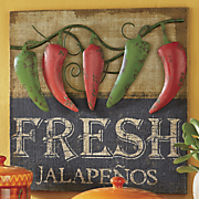 fresh jalapenos art