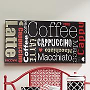 cup of favorites coffee art