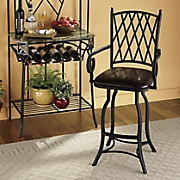 lattice bar stool
