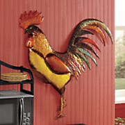 randy rooster wall hanging
