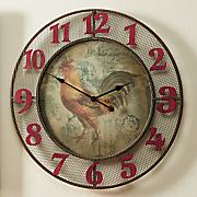 Regal Rooster Clock