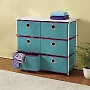 6 drawer storage
