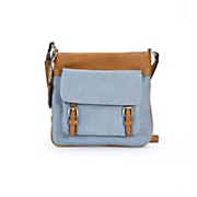 Pocket-Front Cross Body Bag by Hush Puppies