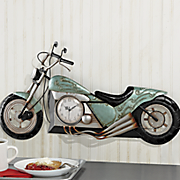 3-D Motorcycle Clock