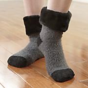 Set of 2 Lavender-Infused Slipper Socks