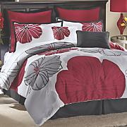 Lila Comforter Set, Pillows and Window Treatment