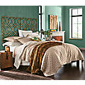 Charlotte Medallion Coverlet