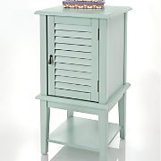 Shutter Door Side Table