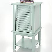 shutter door side table