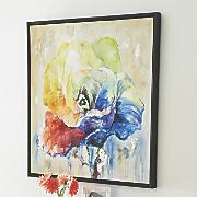Alvaro Rose Framed Oil Painting