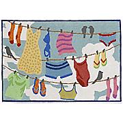 indoor outdoor clothesline rug