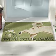 wipe your paws indoor outdoor mat