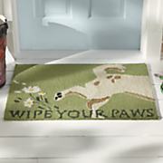 wipe your paws indoor outdoor mat