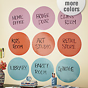 set of peel and stick dry erase dots