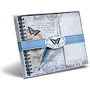 Butterfly Journal and Listpad Gift Set
