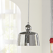 chrome pendant lamp